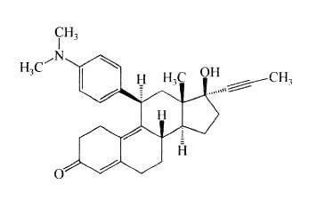 宣威妇女儿童医院避孕用药米非司酮的化学结构